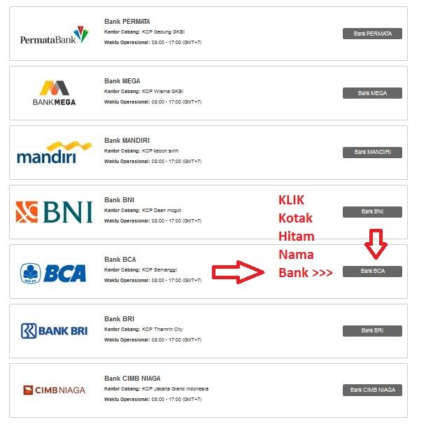 Pilihan Bank Lokal Instaforex Indonesia