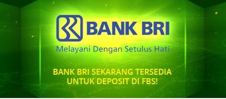 broker forex yang menerima deposit dan withdraw dengan bank BRI