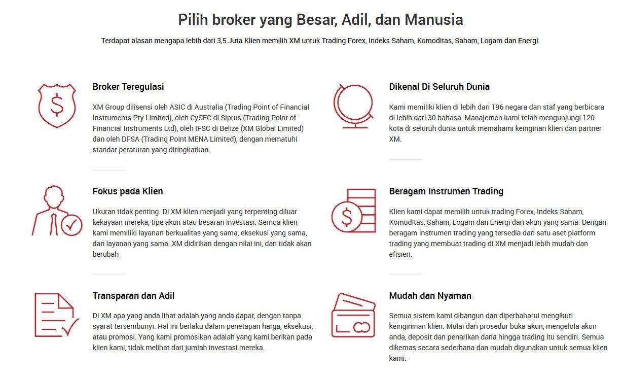 review broker forex XM.com Indonesia terbaik terpercaya