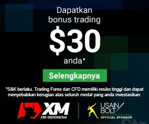 bonus tanpa deposit (no deposit) XM Indonesia