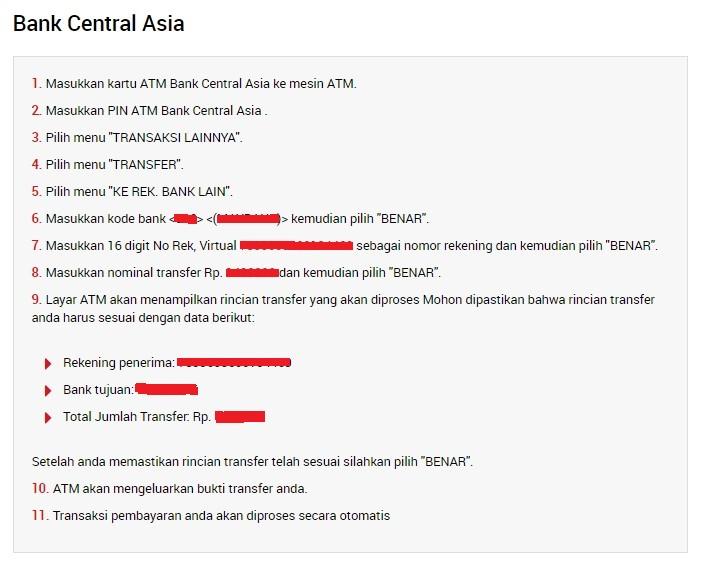 Petunjuk transfer dengan bank lokal di XM Indonesia
