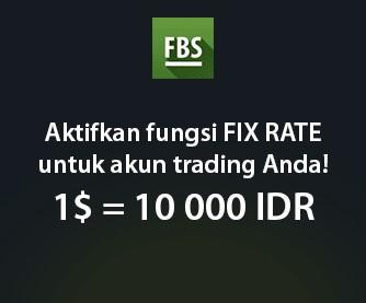Daftar Broker Forex dengan Kurs Rupiah Tetap 10.000 (Fix Rate)