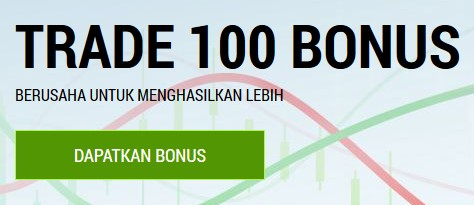 No deposit bonus FBS $100