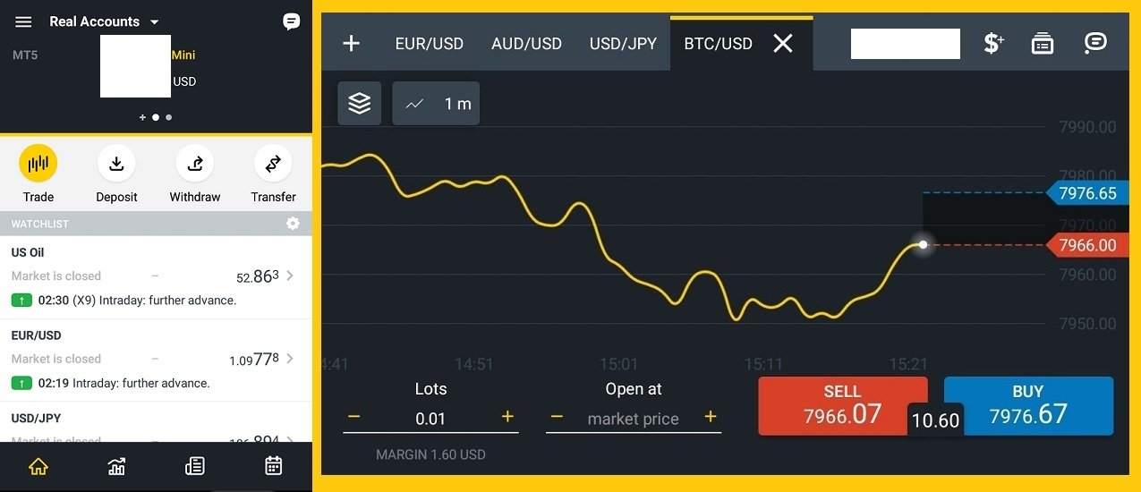 cara buka akun forex trading lewat ponsel