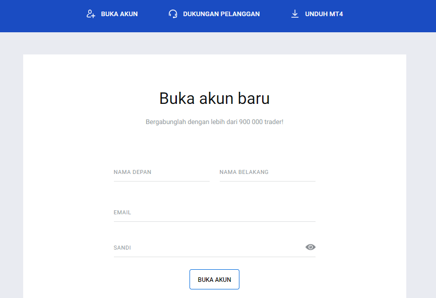 Buka Akun di Broker Forex OCTAFX Indonesia