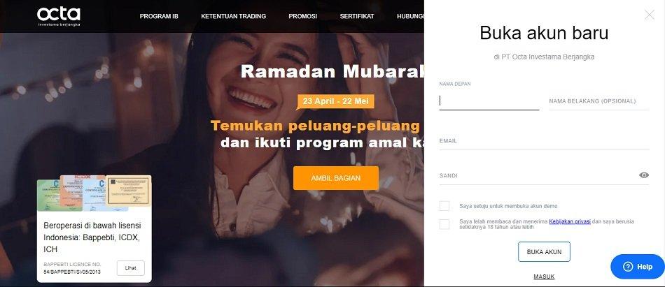 Review Broker PT. Octa Investama Berjangka